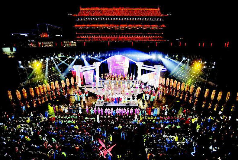 首届丝绸之路国际电影节昨在西安盛大开幕图片