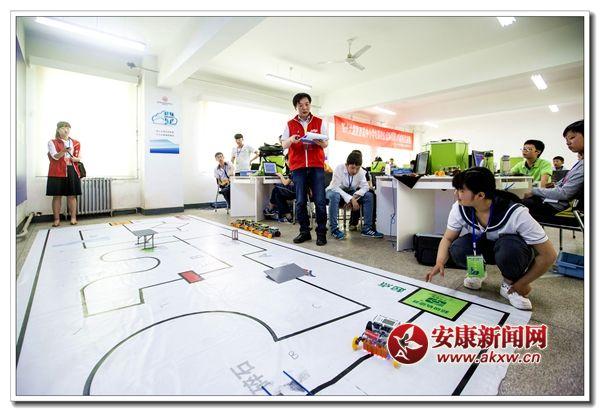 汉阴人民在省机器人超级初中赛夺冠版初中轨迹历史图片