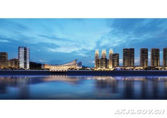 《安康汉江大剧院周边3#4#5#地块修建性详细规划》效果图